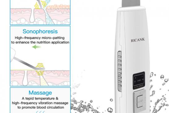 اولتراسوند در دستگاه های مراقبت از پوست