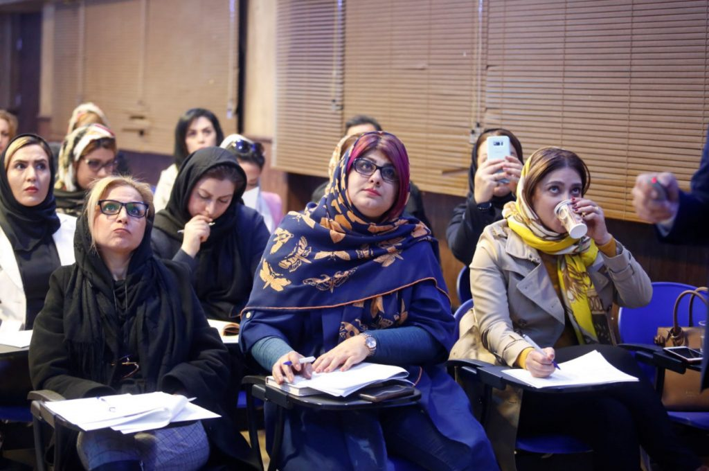 شرکت کنندگان کارگاه آکنه